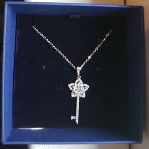 Swarovski key necklace